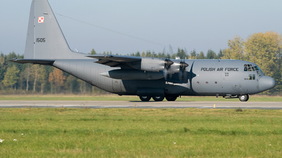 1505 - Lockheed C-130E Hercules - Poland - Air Force