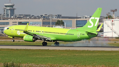 A picture of VPBND - Boeing 73783N - S7 Airlines - © Airyura