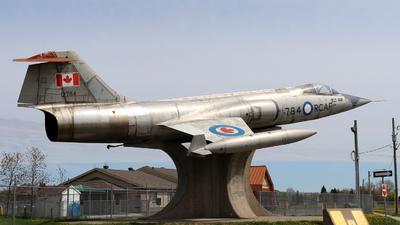 12784 - Canadair CF-104 Starfighter - Canada - Royal Canadian Air Force (RCAF)