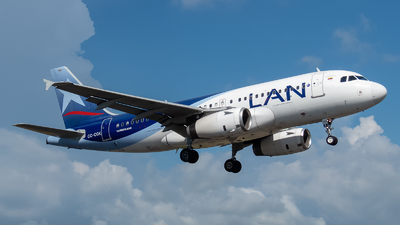 CC-CQK - Airbus A319-132 - LAN Airlines