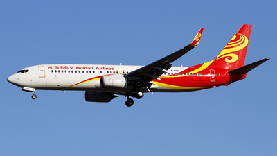 A picture of B1491 - Boeing 73784P - Hainan Airlines - © wangpaul