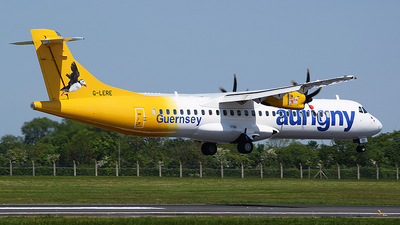 G-LERE - ATR 72-212A(500) - Aurigny Air Services