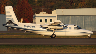 A picture of N690WS - Aero Commander 690A - [11194] - © Weliang