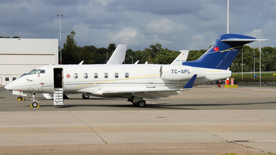 A picture of TCSPL - Bombardier Challenger 300 -  - © C. v. Grinsven