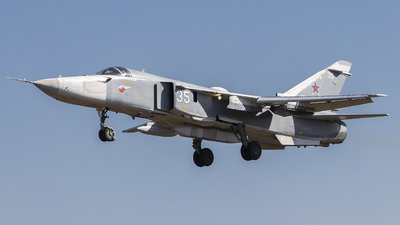 RF-95028 - Sukhoi Su-24MR Fencer - Russia - Air Force