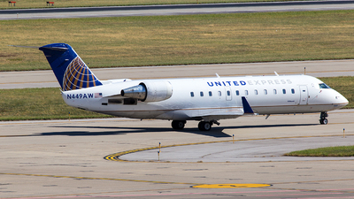 N449AW - Bombardier CRJ-200LR - United Express (Air Wisconsin)