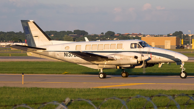 A picture of N137BA - Beech 99A Airliner - Bemidji Airlines - © Stephen J Stein