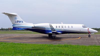 A picture of LQBFS - Learjet 40 - [452003] - © Cristian Ariel Martínez