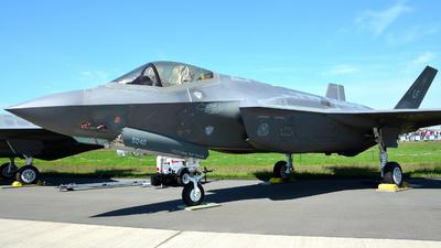12-5040 - Lockheed Martin F-35A Lightning II - United States - US Air Force (USAF)
