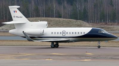 F-HJJJ - Dassault Falcon 900LX - Private