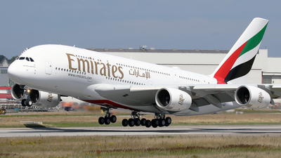 A picture of FWWAY - Airbus A380 - Airbus - © Jeroen Stroes