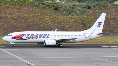 OM-GEX - Boeing 737-8AS - Travel Service (Air Explore)