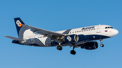 VQ-BWV - Airbus A319-112 - Aurora