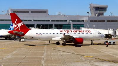 N640VA - Airbus A320-214 - Virgin America