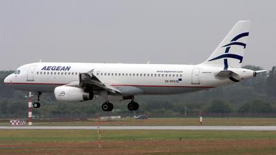 SX-DVS - Airbus A320-232 - Aegean Airlines