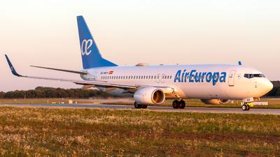 A picture of ECMVY - Boeing 73785P - Air Europa - © Martin Tietz