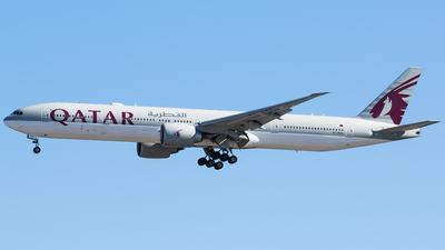 A7-BAK - Boeing 777-3DZER - Qatar Airways