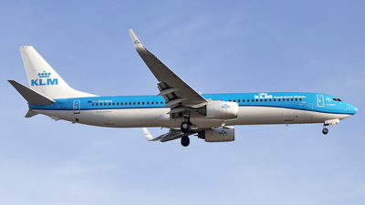 A picture of PHBXS - Boeing 7379K2 - KLM - © Paul Spijkers