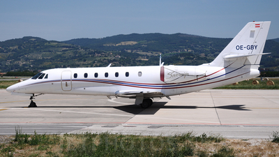 OE-GBY - Cessna 680 Citation Sovereign - MAP Executive Flight Service