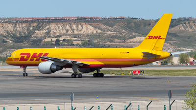 A picture of DALEN - Boeing 7572Q8(PCF) - DHL - © Mateo León