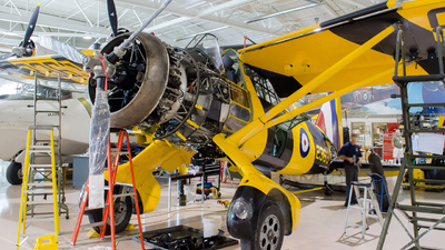 C-GCWL - Westland Lysander Mk III - Canadian Warplane Heritage Museum