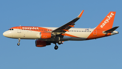 A picture of OEICR - Airbus A320214 - easyJet - © Luca Cesati