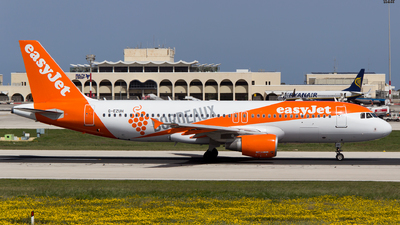 G-EZUH - Airbus A320-214 - easyJet