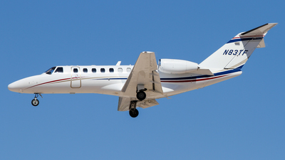 N83TF - Cessna 525B CitationJet 3 - Private