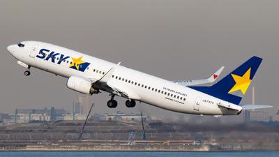 JA737Y - Boeing 737-8FZ - Skymark Airlines