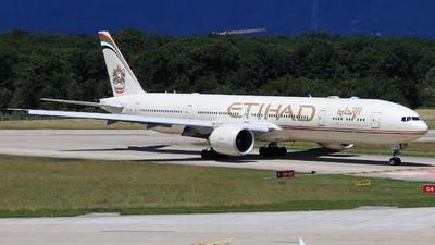 A picture of A6ETM - Boeing 7773FX(ER) - Etihad Airways - © AirBusAl