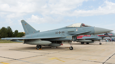 30-86 - Eurofighter Typhoon EF2000 - Germany - Air Force