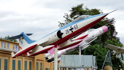 26-63 - Lockheed F-104G Starfighter - Germany - Navy