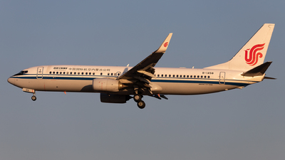 B-1458 - Boeing 737-89L - Air China Inner Mongolia