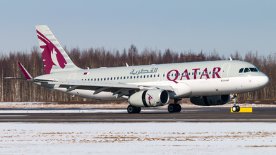 A7-AHT - Airbus A320-232 - Qatar Airways