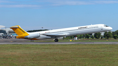 PK-OCU - McDonnell Douglas MD-82 - Airfast Indonesia