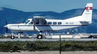 HB-CLD - Cessna 208 Caravan - Zimex Aviation