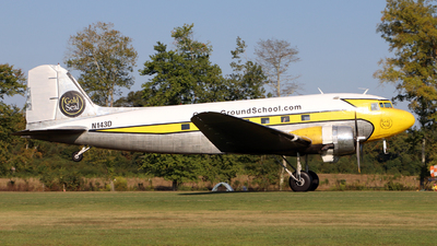 N143D - Douglas DC-3A - Private