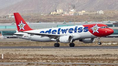 HB-IHZ - Airbus A320-214 - Edelweiss Air
