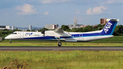 A picture of JA857A - De Havilland Canada Dash 8400 - All Nippon Airways - © AYAHA
