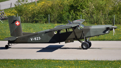 V-623 - Pilatus PC-6/B2-H2 Turbo Porter - Switzerland - Air Force