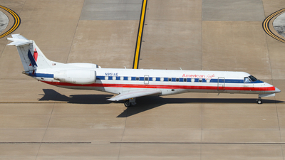 A picture of N851AE - Embraer ERJ140LR - American Airlines - © Connor Cummings