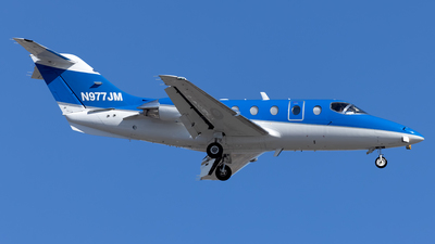 N977JM - Hawker Beechcraft 400A - Private