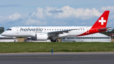 HB-AZD - Embraer 190-300STD - Helvetic Airways