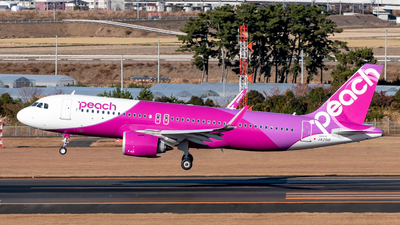 JA201P - Airbus A320-251N - Peach Aviation