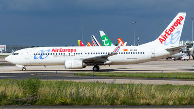 A picture of ECIDA - Boeing 73786Q - Air Europa - © William Verguet