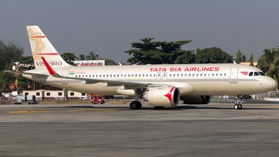 VT-ATV - Airbus A320-251N - Vistara