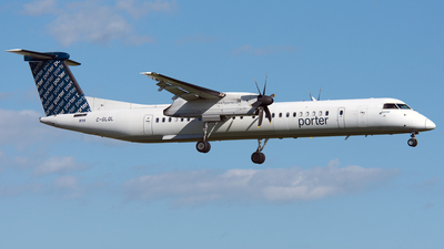 A picture of CGLQL - De Havilland Canada Dash 8400 - Porter Airlines - © PAUL LINK