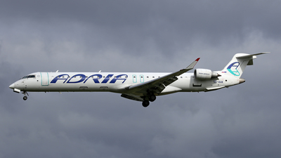 A picture of S5AAK - Bombardier CRJ900LR - Adria Airways - © Frolov Sergey