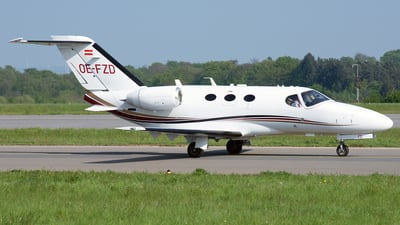OE-FZD - Cessna 510 Citation Mustang - GlobeAir