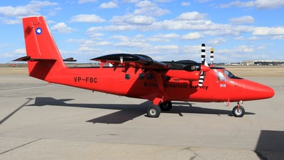 VP-FBC - De Havilland Canada DHC-6-300 Twin Otter - British Antarctic Survey